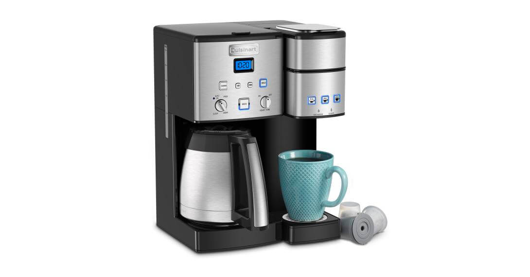 Coffee Center® 10-Cup Thermal Coffeemaker and Single-Serve Brewer