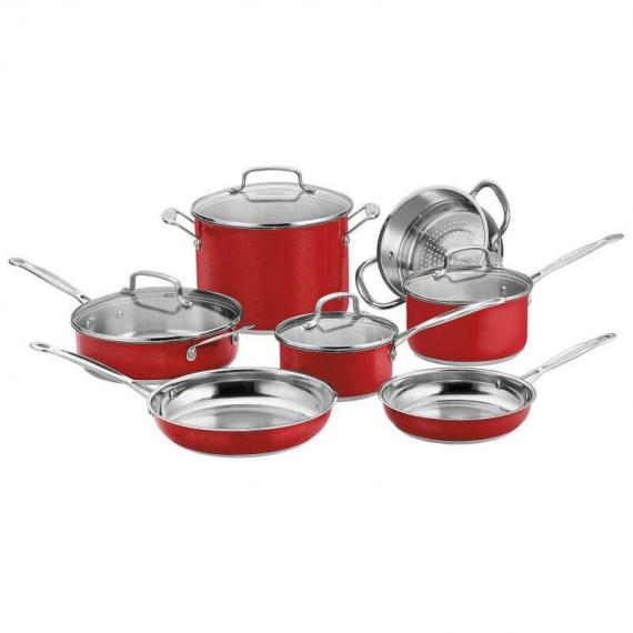 Chef's Classic™ Stainless Color Series 11 Piece Chef's Classic™ Stainless Set