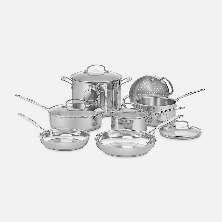 Chef's Classic™ Stainless 11 Piece Set