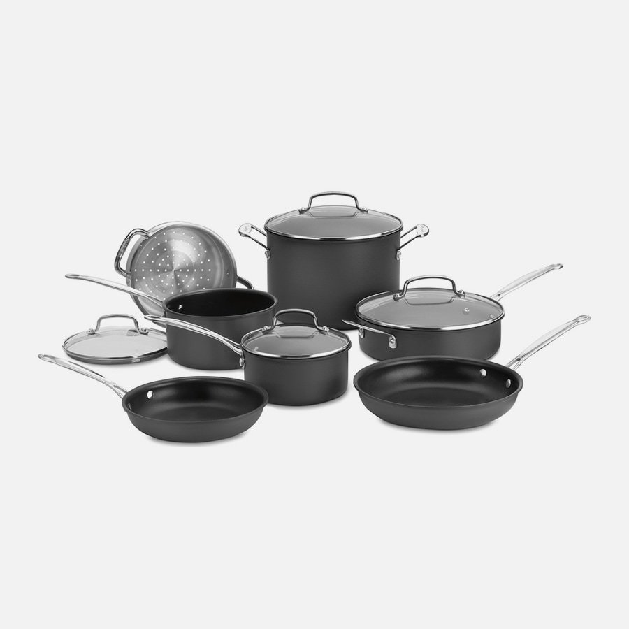 Chef's Classic™ Nonstick Hard Anodized 11 Piece Set