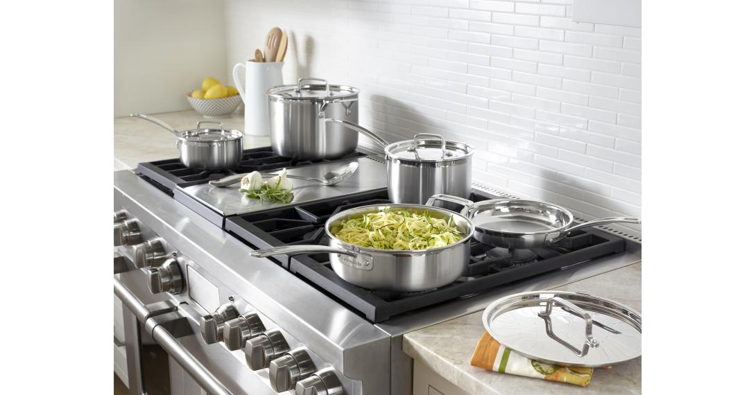 MultiClad Pro Triple Ply Stainless Cookware 12 Piece Set