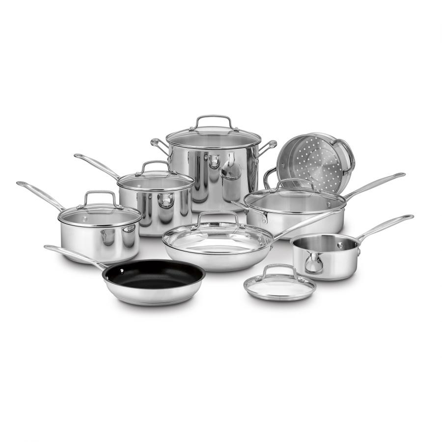 Chef's Classic™ Stainless 14 Piece Set