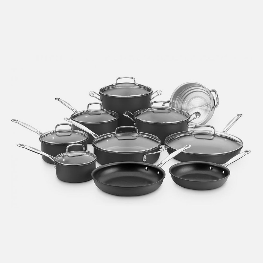 17 Piece Chef's Classic™ Nonstick Hard Anodized Set