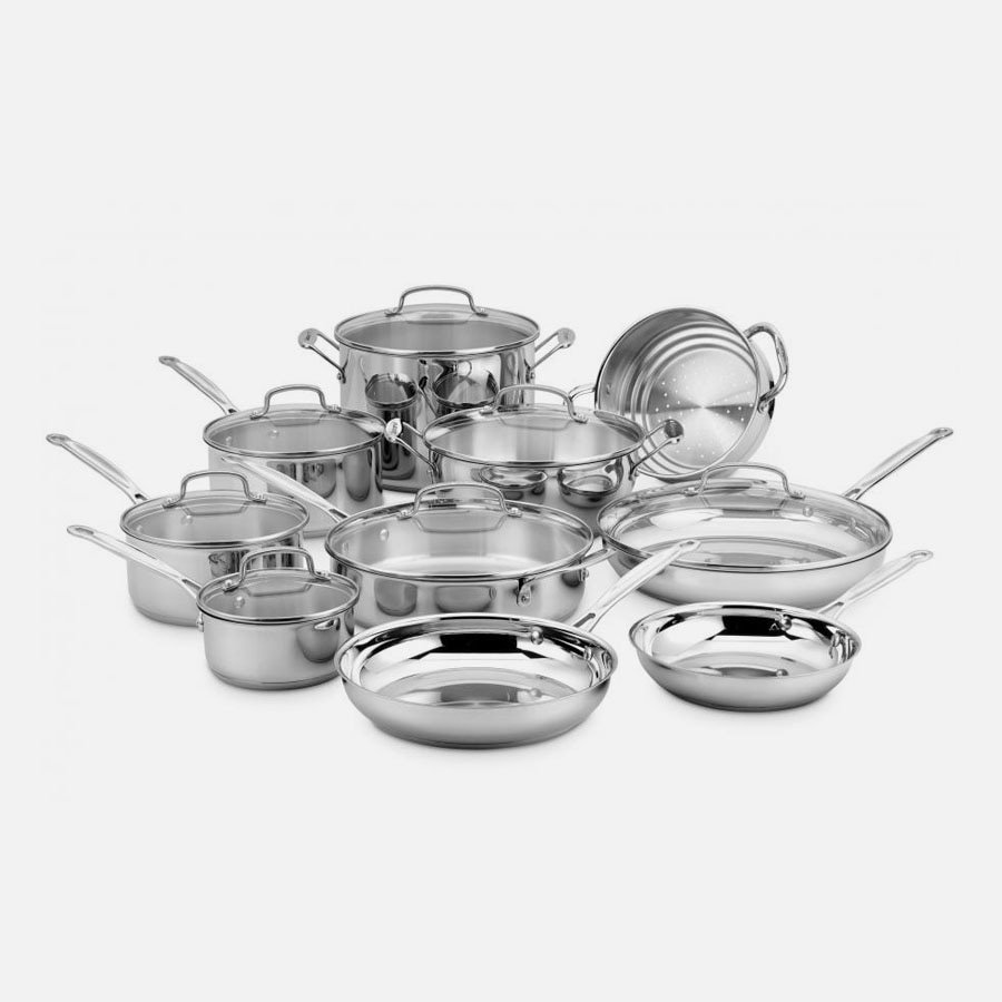 17 Piece Chef's Classic™ Stainless Set