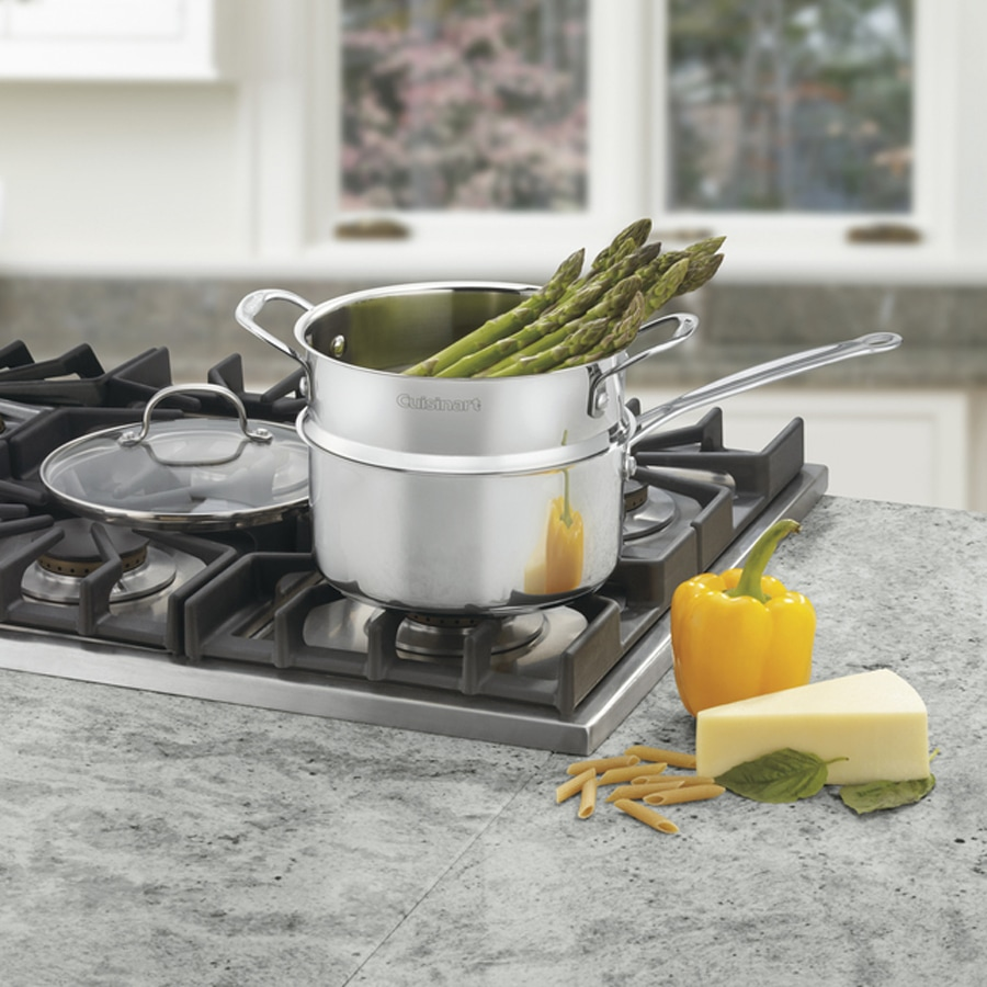 Chef's Classic™ Stainless 3 Quart 3 Piece Chef's Classic™ Steamer Set
