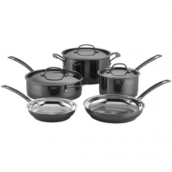 Mica-Shine Stainless Steel 8 Piece Set