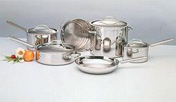 10 Piece Everyday Stainless Cookware Set