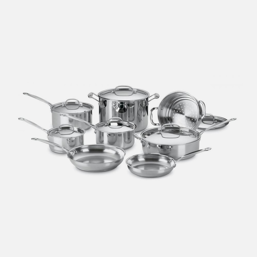 14 Piece Chef's Classic Cookware Set