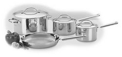 7 Piece Everyday Stainless Cookware Set