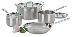 7 Piece MultiClad Stainless Cookware Set